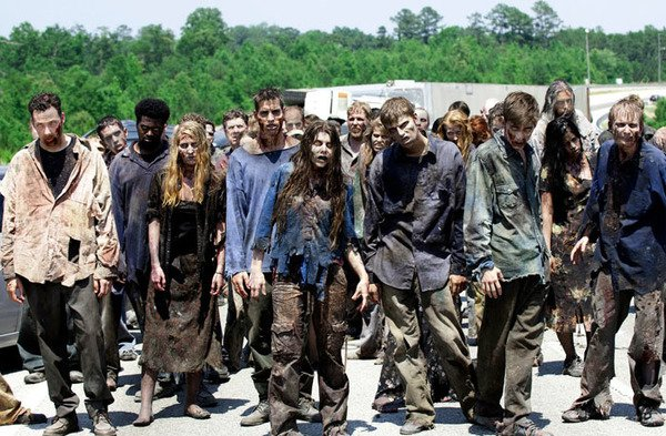 The Walking Dead zumbis