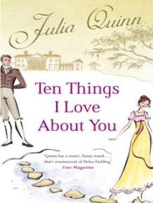 Dez Coisas Que Amo Sobre Você - Julia Quinn