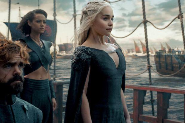 Daenerys à caminho de Westeros